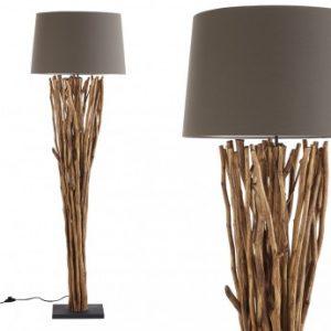 Lámpara de pie RANUA de madera - Altura 175 cm
