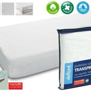 Protector Colchón Rizo Transpirable Cuna