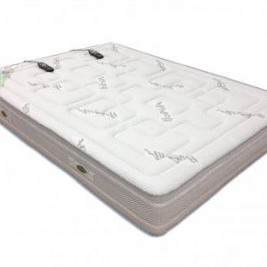 Colchón de masaje de lujo con viscoelástica de NATUREA - 160x200 cm