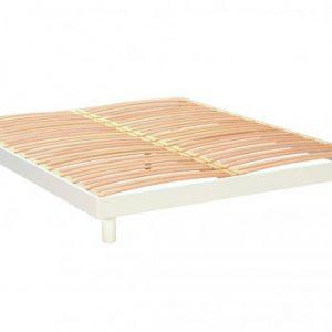 Somier de láminas OHIO - Blanco - 160x200 cm